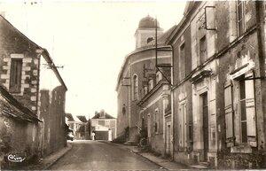 Rue centrale du bourg