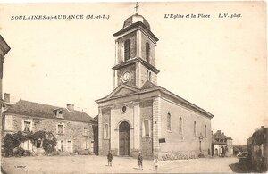 Eglise reconstruite après 1840
